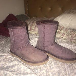 UGG boots Purple